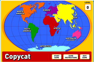 The seven continents continents copycat geography game gumiabroncs Gallery
